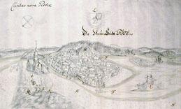 Die neue Stadt Pite av Wollmar Gustaff Läw 1695 kopia