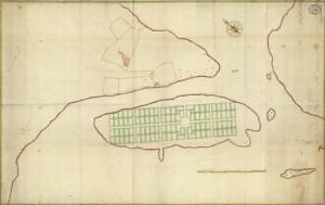 Piteå stad 1667 karta artikelformat